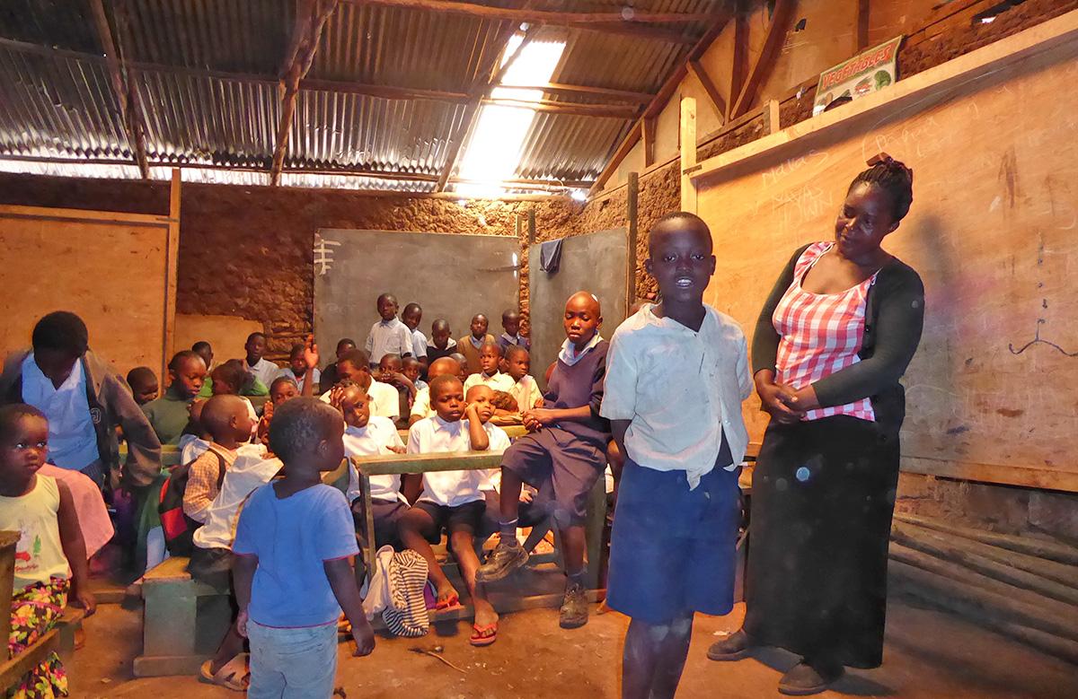 Margaret, Wanjiru, Carey & Jackie